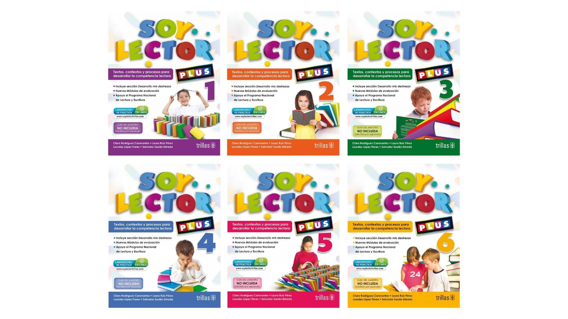 Serie Soy Lector Plus para primaria